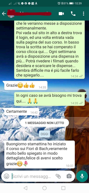 feedback Chiara Carnevale