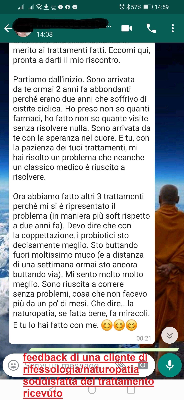 feedback Francesca